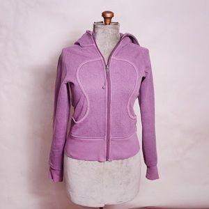 Lululemon Purple Scuba Zip Hoodie Size 4